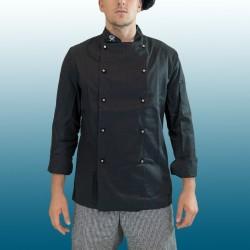 Giacca cuoco nera puro...